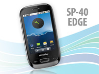"Dual-SIM-Smartphone mit Android 2.2 ""SP-40 EDGE"", WLAN (refurbished) (Bild 1)"