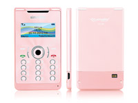 "simvalley MOBILE Mini-Handy RX-380 ""Pico X-SLIM ROSY"" (refurbished) (Bild 1)"