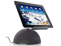 auvisio Aktive Universal-Sound-Station MSS-240.k für iPad & Tablet-PC (Bild 1)