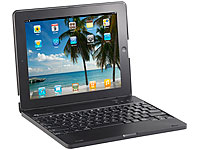 GeneralKeys iPad3/4-Netbook-Case mit 4000 mAh Akku, Bluetooth-Tastatur (Bild 1)