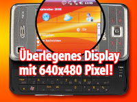 Glofiish M800 UMTS-/VGA mit Windows Mobile 6 & GPS-Empf. (refurbished) (Bild 3)