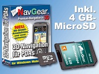 NavGear Navisoftware für Simvalley XP-45/65 West-Europa, 4GB microSD (Bild 1)
