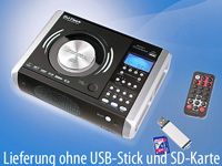 DJ-Tech Professioneller CD- & MP3-Player mit Digital-Recorder (Bild 1)