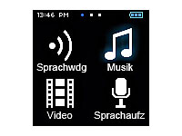 "auvisio Touchscreen MP3- & Video-Player ""DMP-355.SQ"" mit UKW-Radio (Bild 3)"