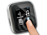 "auvisio Touchscreen MP3- & Video-Player ""DMP-355.SQ"" mit UKW-Radio (Bild 1)"