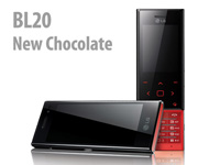 LG Design Handy BL20 New Chocolate, black (Bild 1)