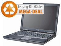 "Dell Latitude D620, 14,1""/35,8cm, 2x1,66GHz, 1GB RAM, 60GB, Win7 HP (Bild 1)"