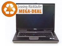 "Dell Latitude D830, 15,4"" (39cm), 2x2,0GHz, 2GB RAM, 80GB SATA, Win7 (Bild 1)"