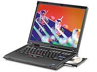 "Lenovo ThinkPad R50e, 14,1""/35,8 cm-Display, Celeron M, 512 MB, 30GB (Bild 2)"