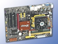 ECS Mainboard A780GM-A AllInOne Athlon X2 5200+/Lüfter/4GB RAM/HDMI (Bild 1)