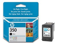 Original HP Tintenpatrone CB335EE (No.350), black (Bild 1)