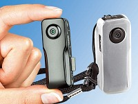 "Somikon 3in1-Mini-Action-Cam ""Raptor640"" m. 2GB-microSD, Akustiksensor (Bild 1)"