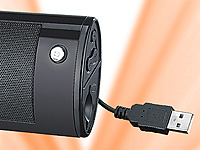 "auvisio Portable MP3-Soundstation ""MPX-303"" mit Akku & SD-/USB-Player (Bild 2)"