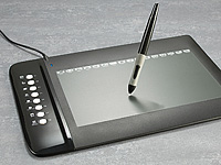 GeneralKeys Premium USB-Grafik Tablet mit 8 Hotkeys, 254 x 159 mm (Bild 2)
