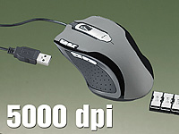 "Mod-it Professionelle Gaming-Laser-Maus ""LMX-5005"" mit 5000dpi (Bild 2)"