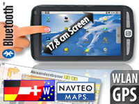 Tablet-PC mit Android2.2, GPS & Navi-Software Westeuropa (refurbished) (Bild 1)