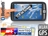 TOUCHLET Tablet-PC X2G mit Android2.2, GPS & Navi-Software Europa 43 (Bild 1)