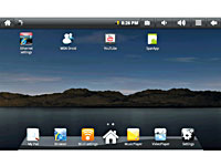 "Meteorit Android-Netbook ""NB-7"" mit 17,8-cm-Display, 1-GHz-CPU, WLAN (Bild 3)"