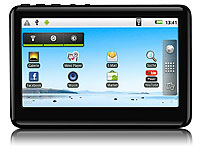"TOUCHLET 4,3"" Pocket-Media-Tablet ""PMT-43.WiFi"" mit Android 2.3 (Bild 1)"