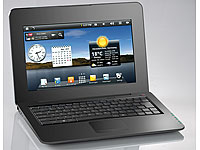 "Meteorit 10,1""-Android-Netbook NB-10.HD mit HDMI/ 150MBit WLAN/ Webcam (Bild 2)"