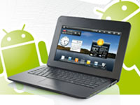 "Meteorit 10,1""-Android-Netbook NB-10.HD mit HDMI/ 150MBit WLAN/ Webcam (Bild 1)"