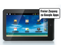 "TOUCHLET 1-GHz-Tablet-PC X4 Android2.3, 7"" kapazitiv (refurbished) (Bild 4)"
