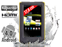 "TOUCHLET 7""-Tablet-PC X5.Outdoor mit Android 4.0, IP57-Geh�use"