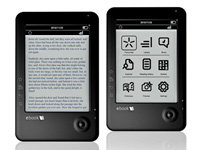 "Elonex 15,2cm/6"" eBook-Reader 621EB mit E-Ink, DRM & MP3 (refurbished) (Bild 3)"