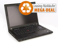"Lenovo ThinkPad T61, 14,1"" WXGA, 2x2,0GHz, 2GB, 100GB, DVD-CDRW, Win7 (Bild 1)"