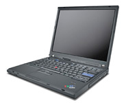 "Lenovo ThinkPad T60, 14"", 2x1,66GHz, 3GB RAM, 60GB HD, UMTS, Win7 (Bild 2)"