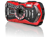 Pentax 16MP wasserfeste Outdoor-Kamera WG-2, 5x opt. Zoom, HD, rot (Bild 1)