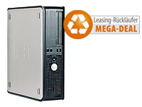 Dell Optiplex 755SF, Intel Core2Quad Q6600, 4GB RAM, 160GB HDD, Win7 (Bild 1)