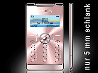 "simvalley MOBILE Mini-Handy RX-380 ""Pico X-SLIM PINK"" (refurbished) (Bild 1)"