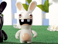 Rayman Raving Rabbids - Scream Bunny, 9 cm hoch (Bild 1)
