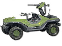 Halo Reach Warthog Jeep with Light Anti-Aircraft Gun (Bild 2)