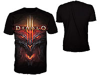 "Diablo III T-Shirt ""All over Face"" Grösse M (Bild 1)"