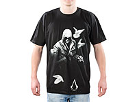 Assassin's Creed 2 T-Shirt Truth in Blood - Schwarz, Grösse XL (Bild 1)