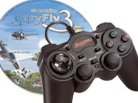Modellflug-Simulator EasyFly 3 SE mit USB-Gamecontroller (refurbished) (Bild 1)