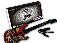 Guitar Hero - Metallica Bundle - Solo Guitar Game (PlayStation 2) (Bild 1)