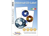 Your Design 75 CD-Label Standardformat Universal für Laser/Inkjet (Bild 1)