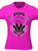 T-Shirt Hannah Montana - Rock true to Your Heart, pink, Größe L