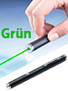 General Keys Hightech-Laserpointer mit grünem Festkörper-Laser