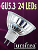 SMD-LED-Lampe GU 5.3 24 LEDs 12V - warmweiß