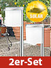 "Solar-LED-Wegeleuchte ""Slim Light"" im 2er-Set"