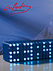 "LED-Designer-Wecker ""Blue 24"""