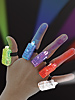 Bunte LED-Fingerlichter im 5er-Set