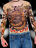 "Tattoo-Shirt ""Tribal & Dragon"", bunt"