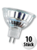 SMD-LED-Lampe GU 5.3 48 LEDs 12V - warmweiß, 10er-Pack