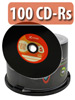 Vinyl-Look CD-R 700MB/80Min 52x, 100er-Spindel