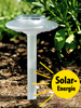 "Solar-Gartenleuchte ""Glaslight"" transparent"